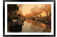 Easy afternoon, Framed Mounted Print