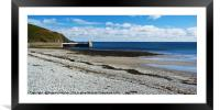 Laxey Beach, Framed Mounted Print