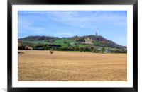 Scrabo Tower viewed from the south west on the Com, Framed Mounted Print