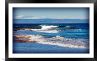 Winter Blues, Framed Mounted Print