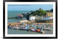 Tenby, Wales, Framed Mounted Print