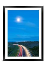 Road to Somewhere, Framed Mounted Print