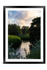 The River Frome, Framed Mounted Print