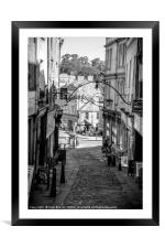 Stony Street Frome, Framed Mounted Print