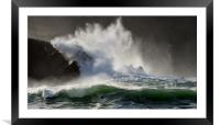 Clogher beach, Framed Mounted Print