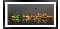 Dingle Harbor, Framed Mounted Print