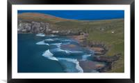 Coumeenole beach, Framed Mounted Print