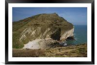 From Worbarrow Tout, Framed Mounted Print