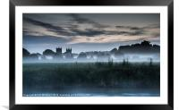 Twin Towers, Framed Mounted Print