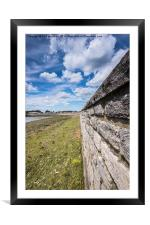 Clouds over Keyhaven, Framed Mounted Print