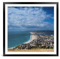 From the Heights, Framed Mounted Print