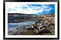Loch Earn Scotland, Framed Mounted Print