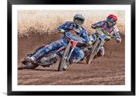 The Race, Framed Mounted Print