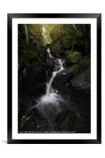 Lumsdale Falls 7.0                       , Framed Mounted Print