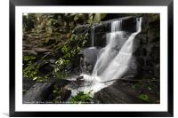 Lumsdale Falls 10.0                         , Framed Mounted Print