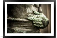 Two fingers, Framed Mounted Print