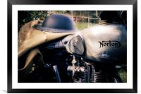 Dispatch Rider, Framed Mounted Print