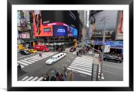 Stretch Limousine New York, Framed Mounted Print