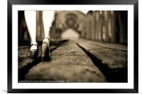 THE LONG WALK HOME, Framed Mounted Print