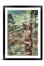 BEAUTIFUL NATURE, Framed Mounted Print