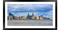 liverpool city, Framed Mounted Print