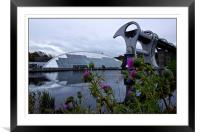 Thistle be the Falkirk wheel then, Framed Mounted Print