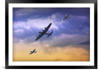 Battle of Britain, Framed Mounted Print
