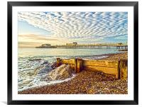 Worthing West Sussex, Framed Mounted Print