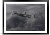 Lancaster - Remembrance, Framed Mounted Print