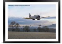 Spitfire - Interdictor Mission, Framed Mounted Print
