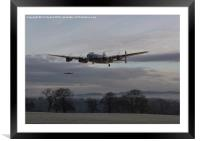 Lancaster - 'He aint heavy he's my brother', Framed Mounted Print