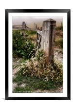 The Gate, Framed Mounted Print