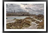 St Malo, Framed Mounted Print