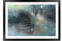 Mysterious Steps, Framed Mounted Print