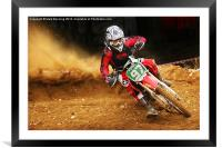 Toms on the gas, Framed Mounted Print