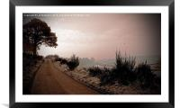 A Cold and Frosty Morning, Framed Mounted Print