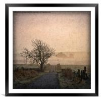 Solitary Thoughts, Framed Mounted Print