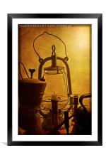 Let There be Light, Framed Mounted Print