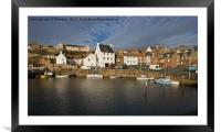 Crail Harbour, Framed Mounted Print
