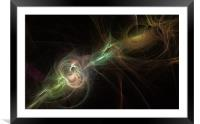 Fusion One, Framed Mounted Print
