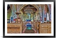 St Margaret Lower Halstow, Framed Mounted Print