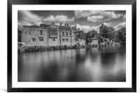 All Saints Church and Archbishops Palace, Framed Mounted Print