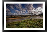 Road At Gills Lap, Framed Mounted Print