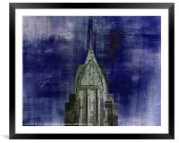 Abstract Architecture, Framed Mounted Print