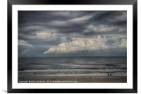 Between the Storms, Framed Mounted Print