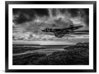 Vulcan Low and Fast, Framed Mounted Print