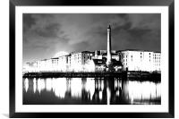 Liverpool Pumphouse, Framed Mounted Print