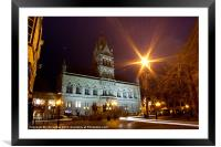 Chester Town Hall, Framed Mounted Print