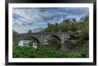 Ludlow Castle, Framed Mounted Print