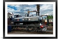 Building a Head of Steam, Framed Mounted Print